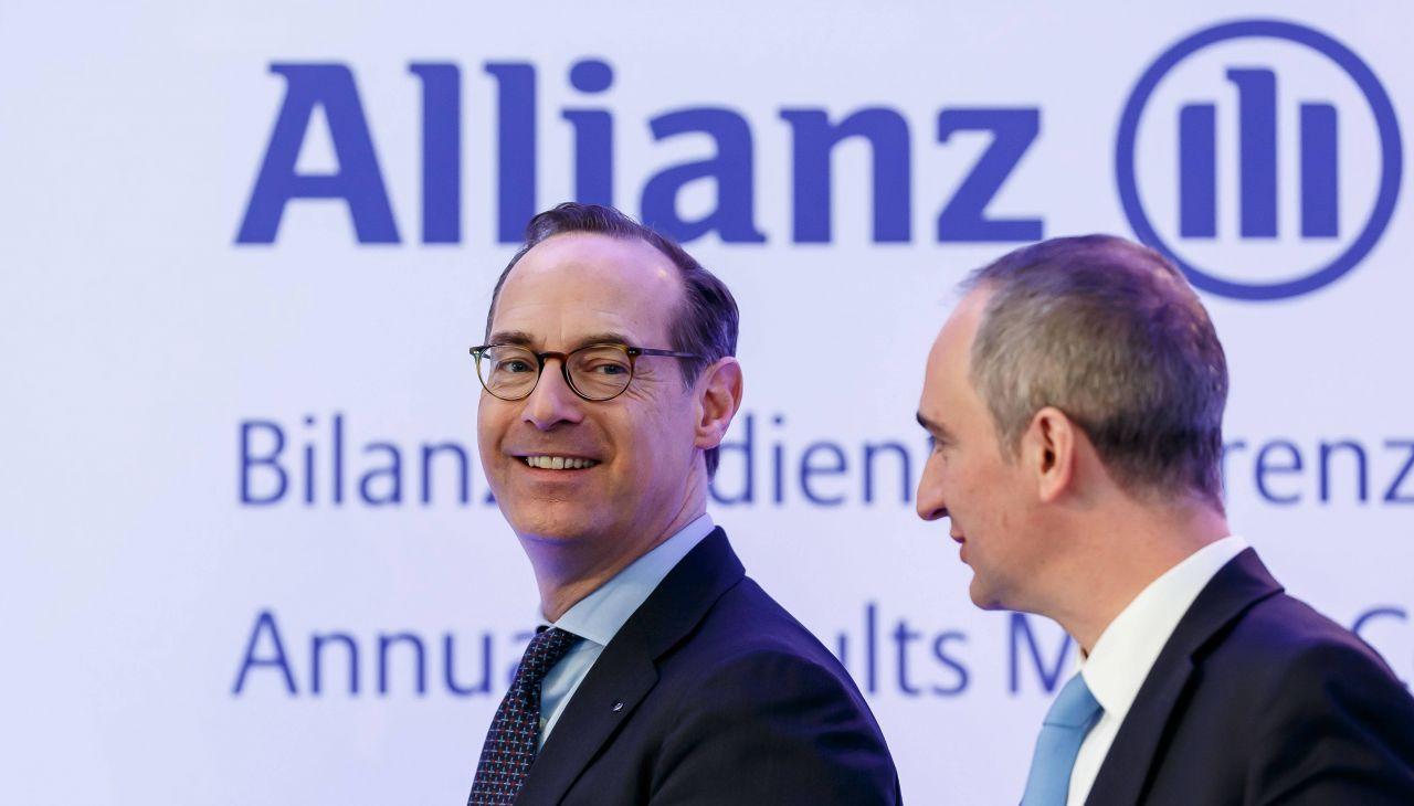 BlackRock ist mit 6,90% an der Allianz beteiligt.