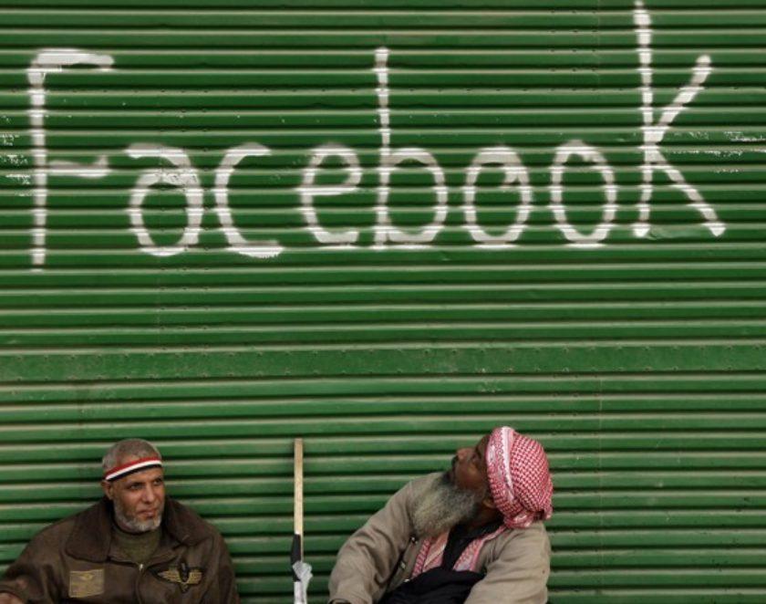 Facebook war anfänglich das wichtigste Medium zur Mobilisierung der Bevölkerung in der Arabischen Welt.
