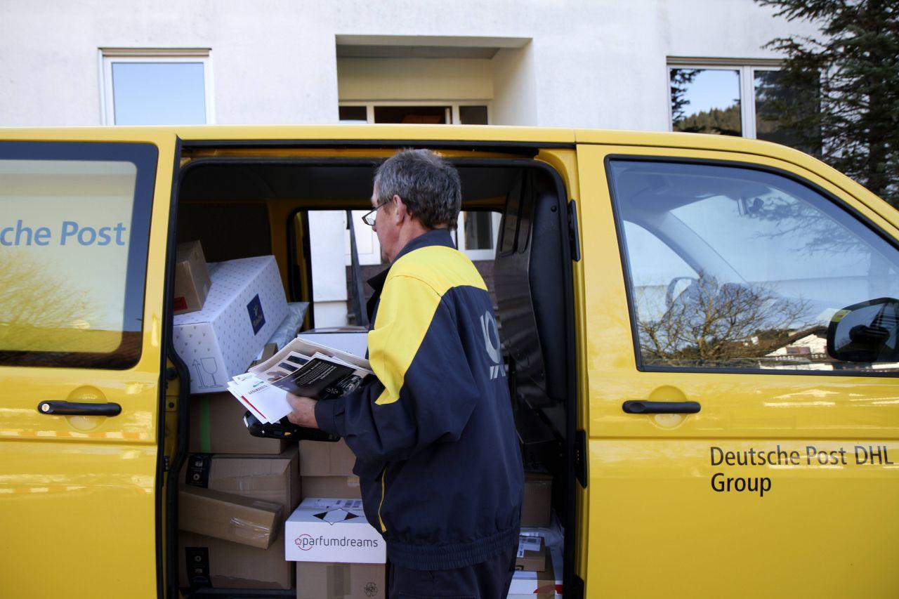 BlackRock ist mit 7,00% an der Deutschen Post beteiligt.