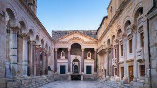 """Der Drehort der """"Sklavenhändlerstadt Meereen"""" befindet sich im Diokletianpalast in Split."""