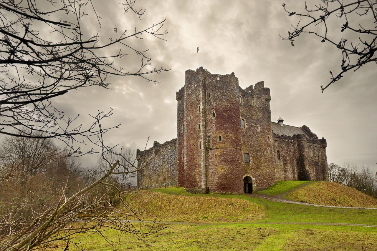 Das Doune Castle war Filmkulisse für sowohl Game of Thrones als auch Outlander.