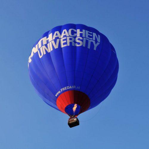 Heissluftballon der Technischen Hochschule.