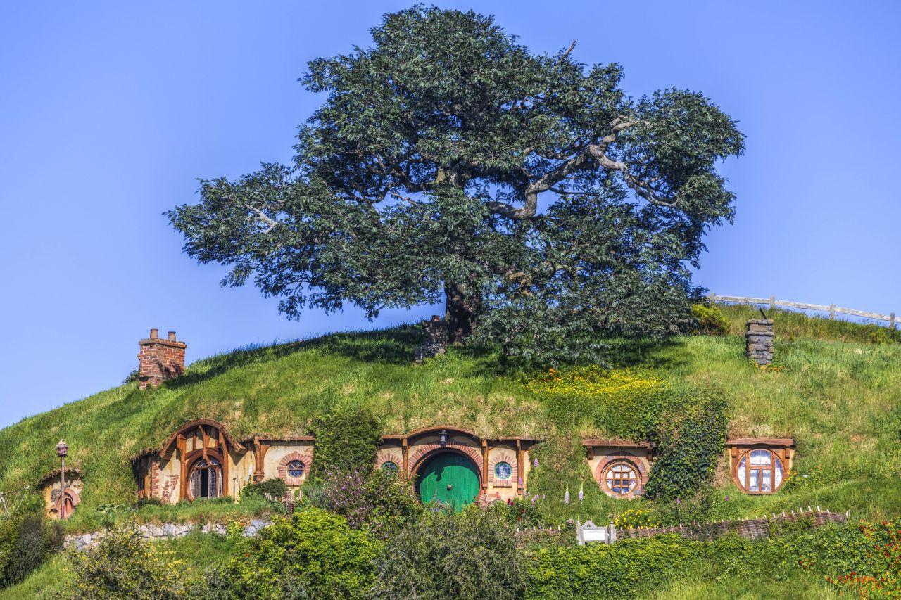 Das Zuhause der Hobbits befindet sich im Auenland in Neuseeland.