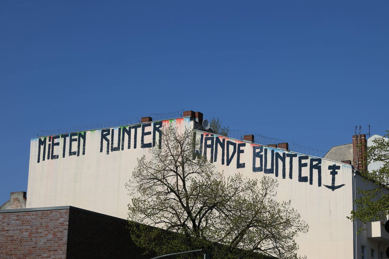 Berlin Mietendeckel Graffiti