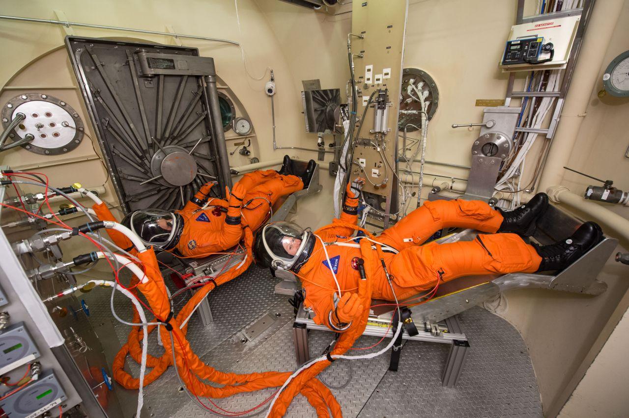 Raumanzüge für das neue NASA-Raumschiff Orion