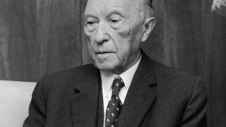 Der erste Bundeskanzler: Konrad Adenauer.