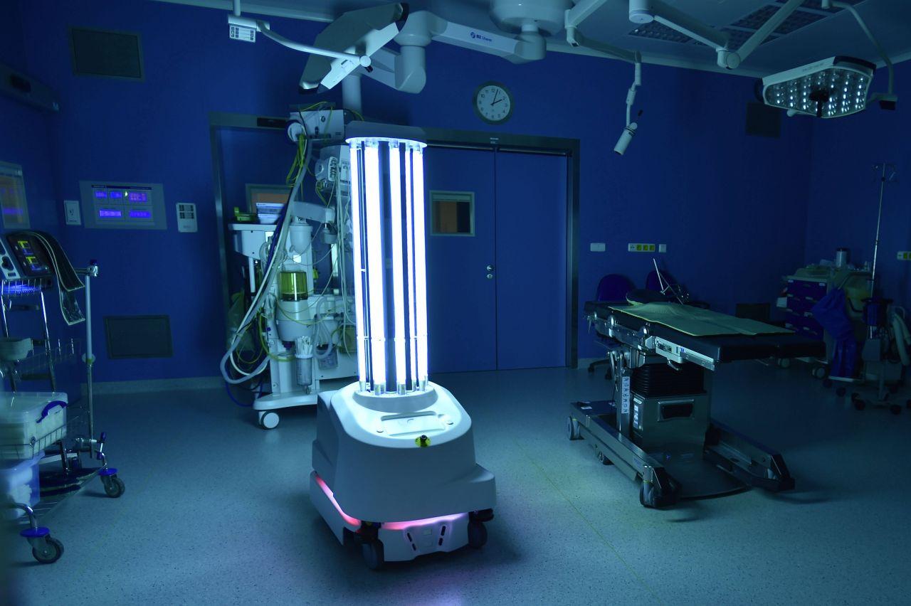 Mit Licht gegen Corona: Wo UV-Strahlung schon Keime und Viren vernichtet