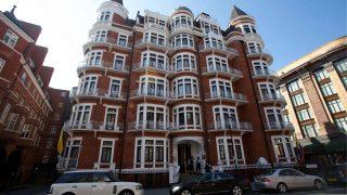 2012 flüchtete Julian Assange in die ecuadorianische Botschaft in London.