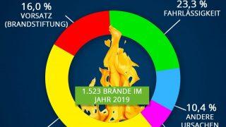 Ursachen von Waldbränden