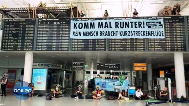 Dafür oder Dagegen: sollen Inlandsflüge verboten werden?