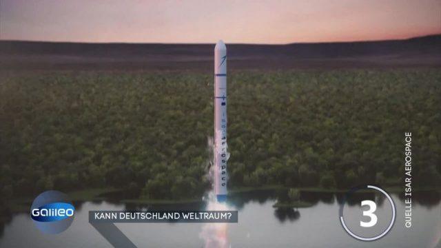 Deutsche Raketen für den Weltraum