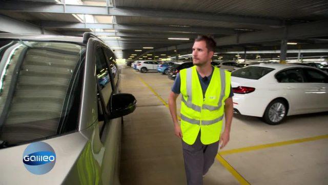 Einparken extrem: Der anspruchsvolle Job des Carwegfahrers