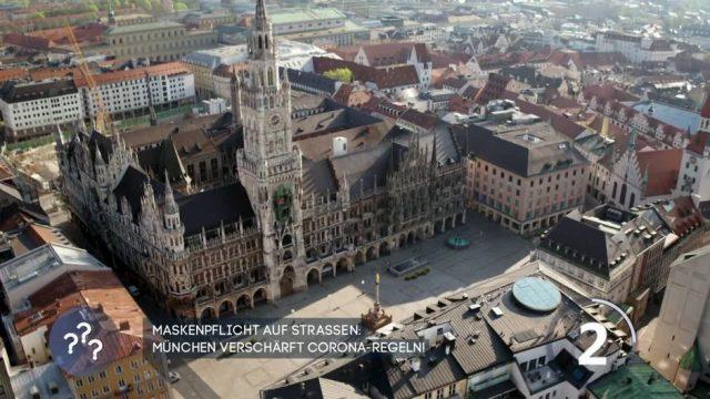 Maskenpflicht auf Straßen: München verschärft Corona-Regeln