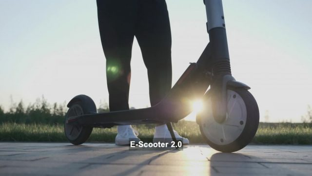 Neue Generation E-Scooter