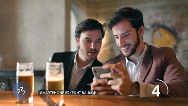 Promille-App: Smartphone erkennt Rausch