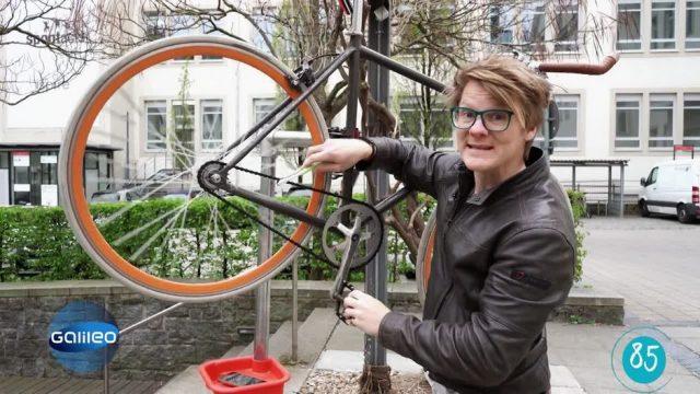 Schlau in 100 Sekunden: Fahrrad selbst reparieren