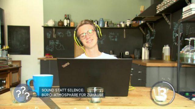 Sound statt Stille: Büro-Atmosphäre für Zuhause