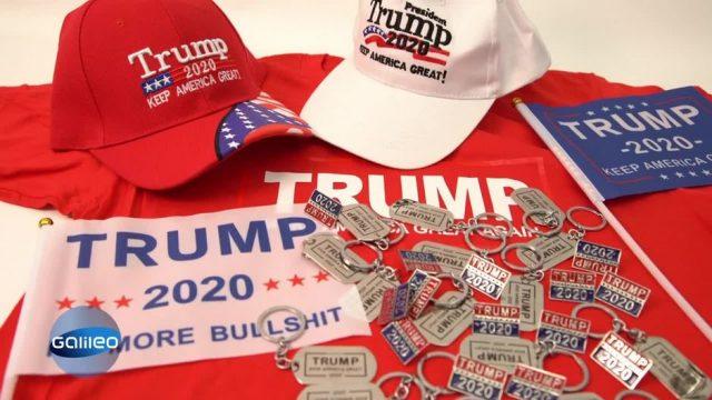 Trump-Fanartikel made in China