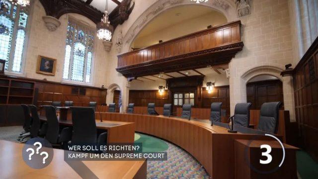 Wer soll es richten? Kampf um dem Surpreme Court in den USA