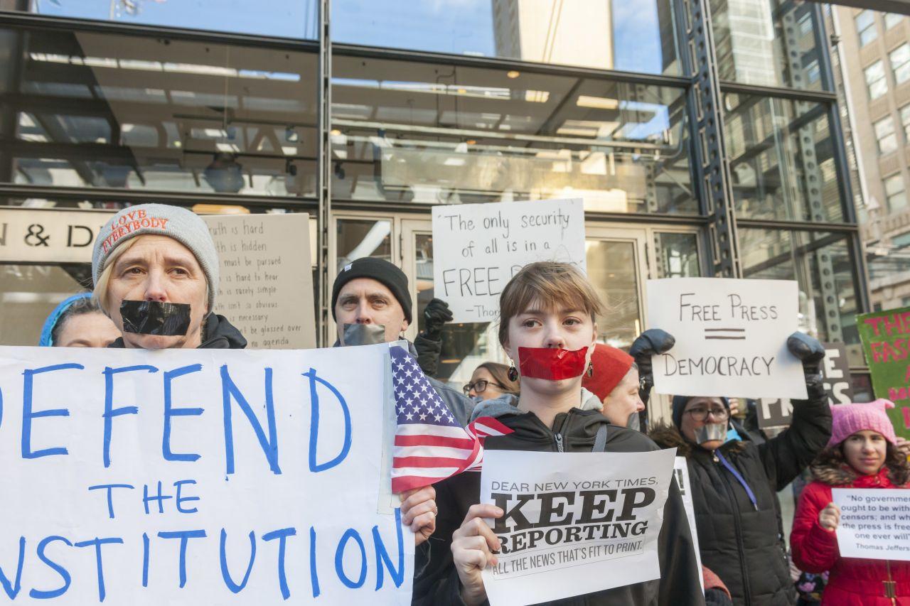 Aktivisten Pressefreiheit