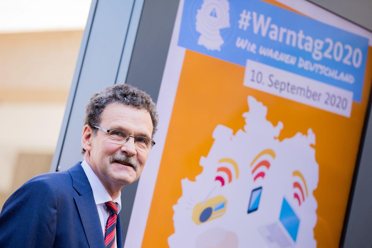 BBK-Präsident Christoph Unger