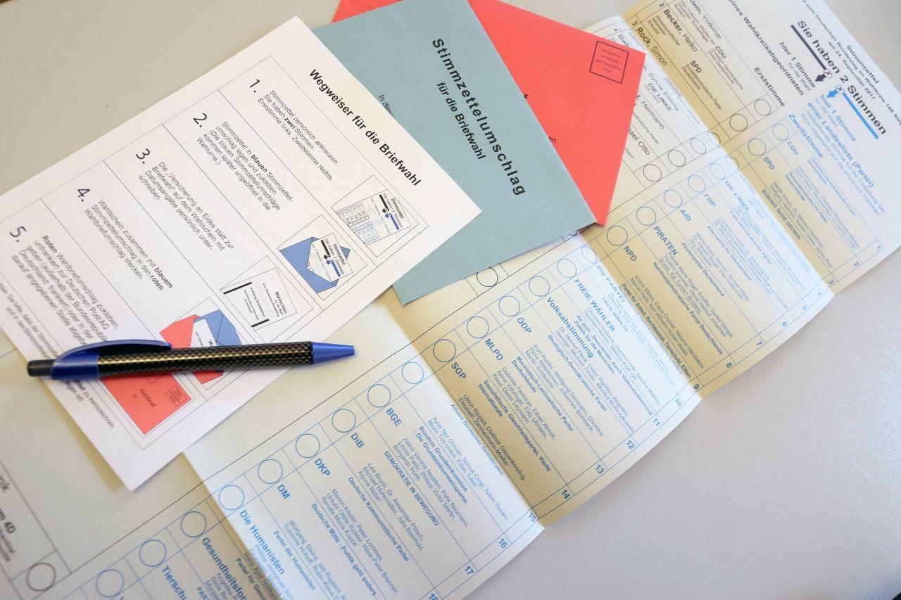 Briefwahl Unterlagen Deutschland
