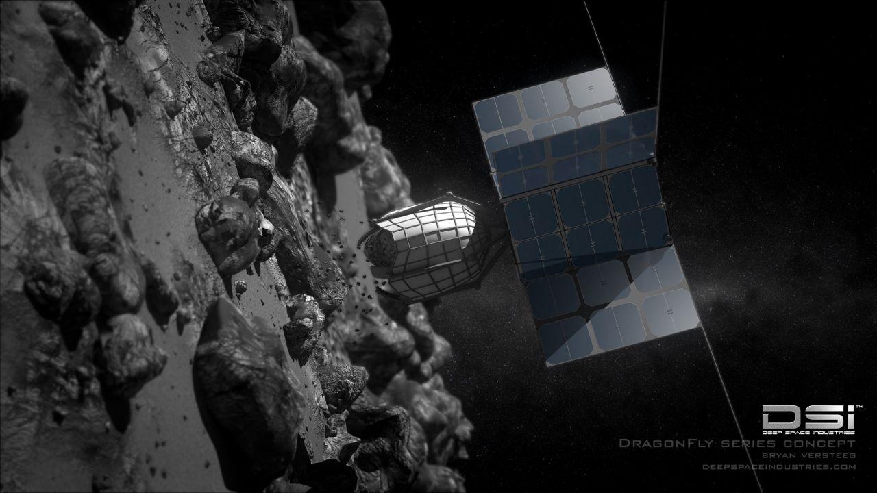 Greif-Roboter von Deep Space Industries.