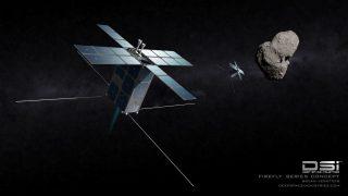 Kundschafter-Satellit von Deep Space Industries
