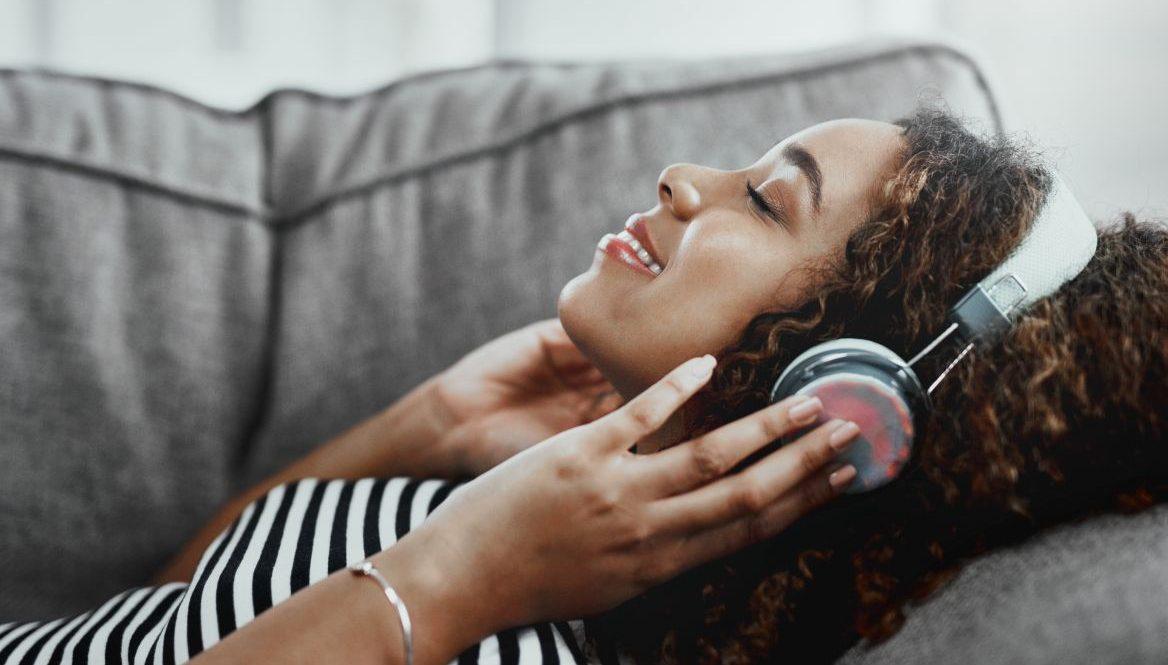 ASMR über Kopfhörer