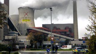 Das Atomkraftwerk Neurath in Nordrhein-Westafeln