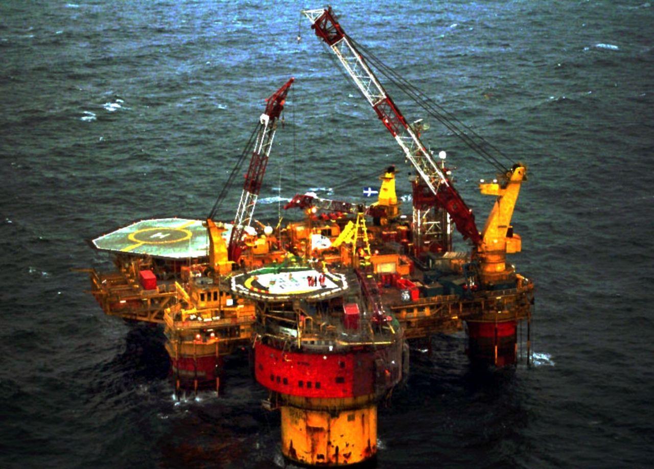 "Die Ölplattform ""Brent Star"""