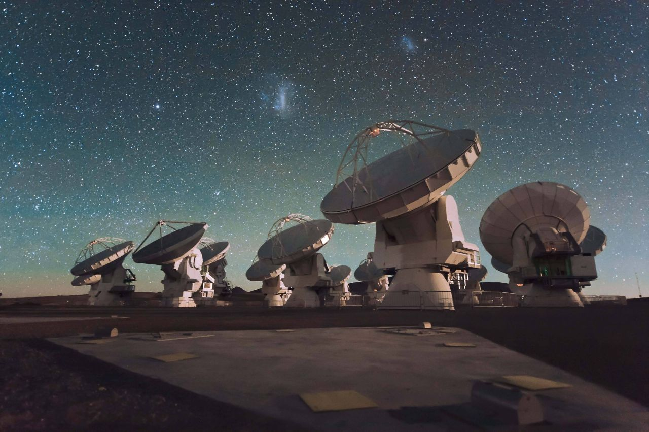 Atacama-Teleskopfeld