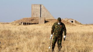 Atomwaffentestgelände Semipalatinsk, Kasachstan