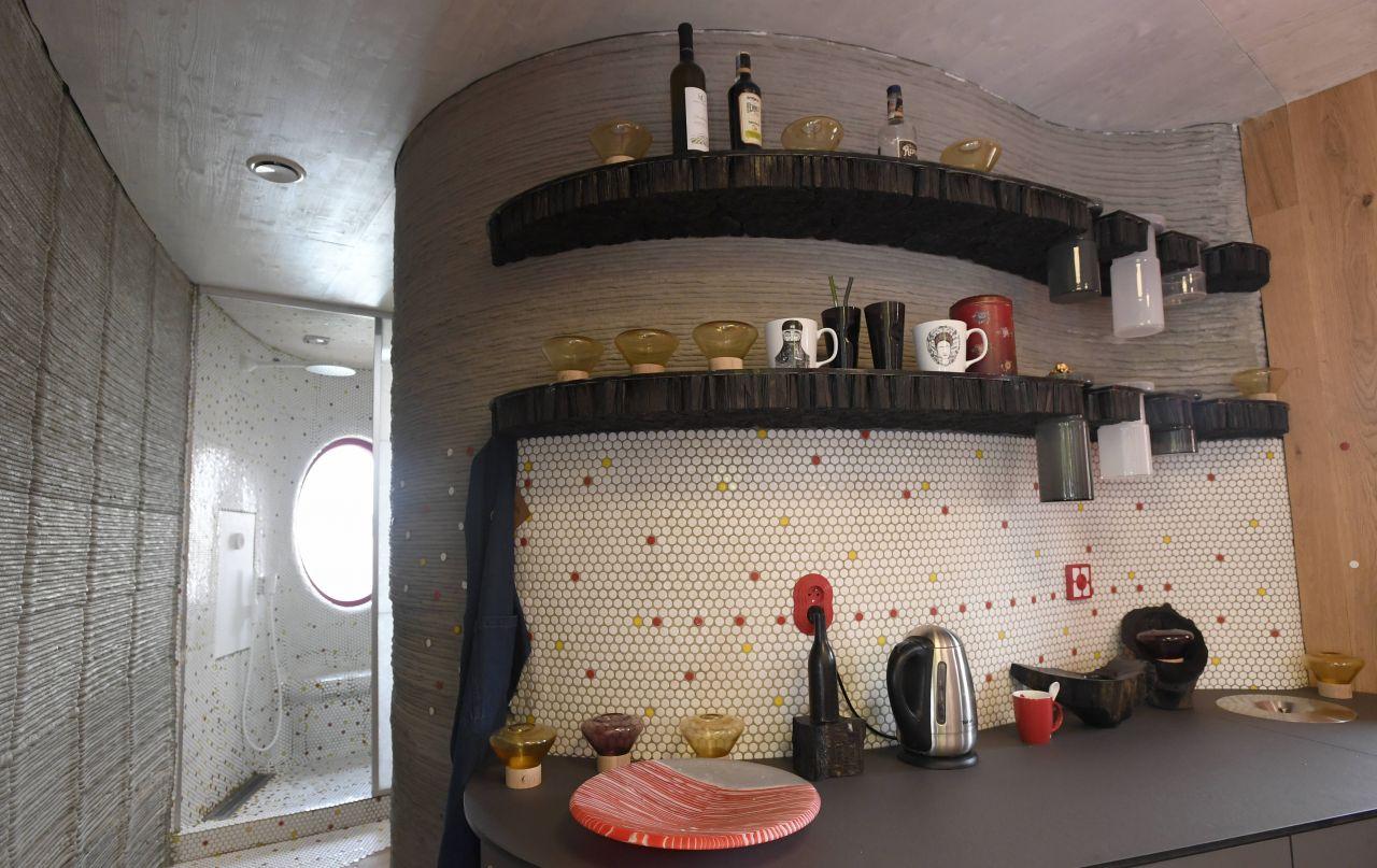 Prag 3D-Haus Küche