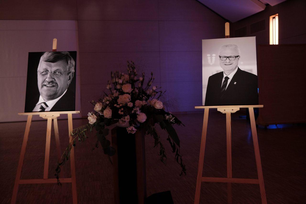 Trauerfeier von dem ermordeten Walther Lübcke