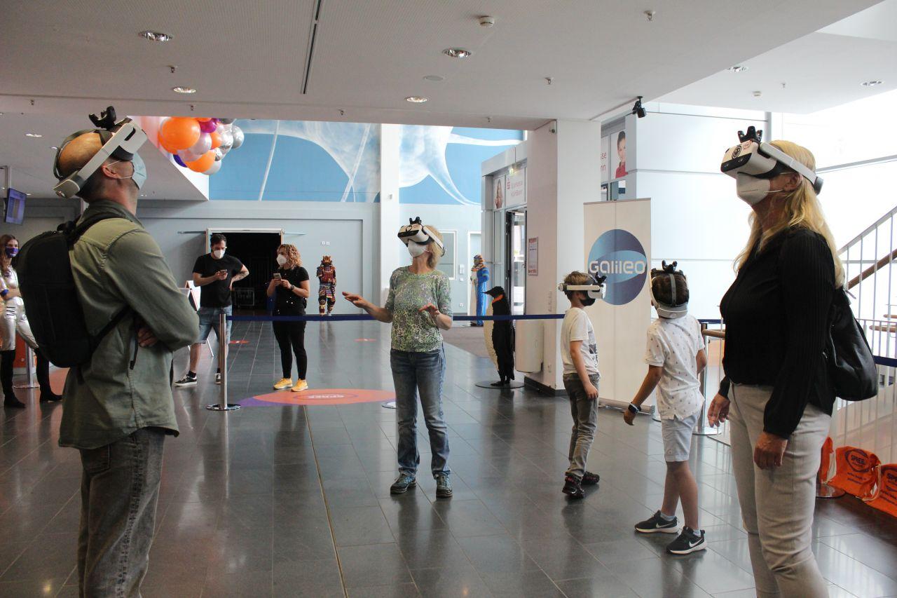 """Wir schicken dich wieder zum roten Planeten! Das Galileo """"Mission to Mars"""" VR-Spiel"""