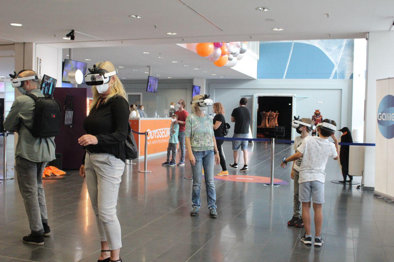 Galileo Mission to Mars VR-Spiel