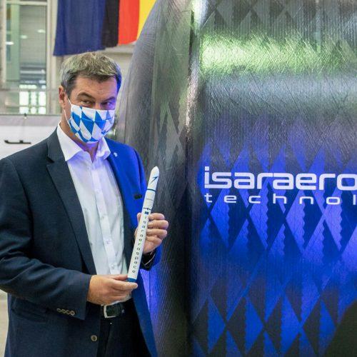 Markus Söder bei Isar Aerospace
