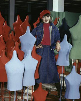 Auschnitt aus Mode-Katalog DDR 1975