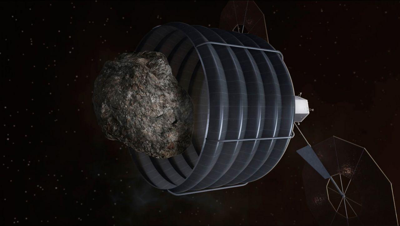 Asteroid Return Mission: Asteroiden-Fangen