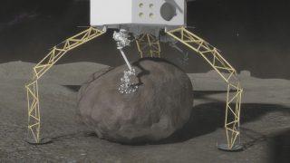 Illustration eines Greifroboters der NASA