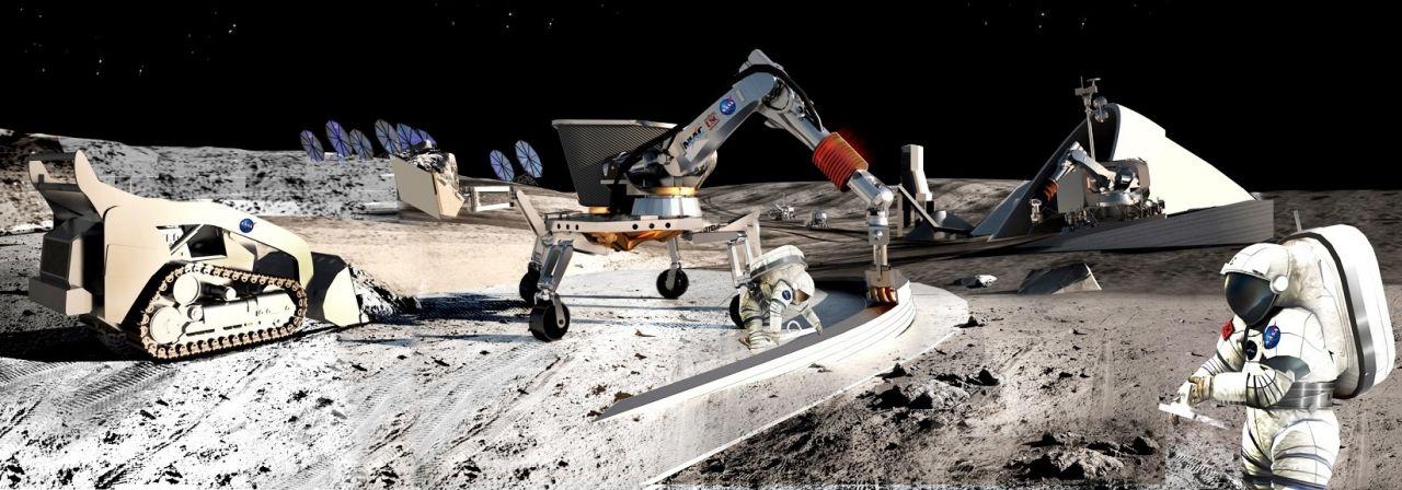 Hausbau mit Mondstaub