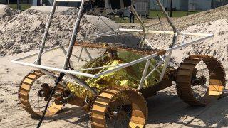 Testmodell des VIPER-Rovers der NASA