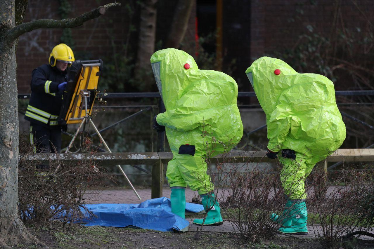 Gift-Attentat auf Sergei Skripal in Salisbury 2018
