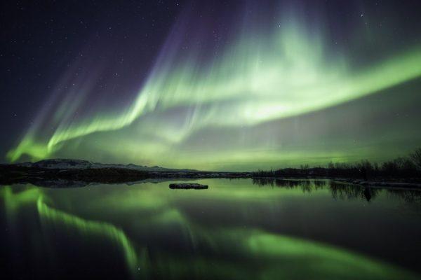 Magnetsinn Magnetfeld Polarlicht