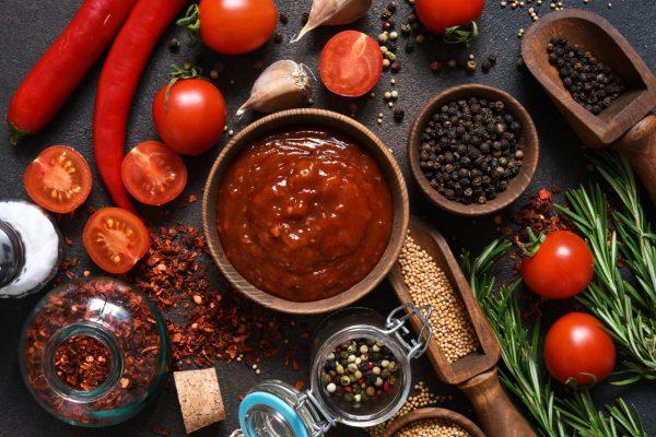Zutaten für Curry-Ketchup