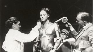 Metropolis Brigitte Helm als Roboter Maria