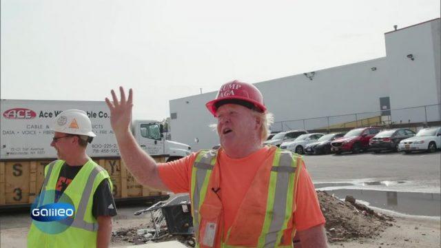 Bauarbeiter und Hobby-Präsident: Dieser Mann lebt als Donald Trump Double