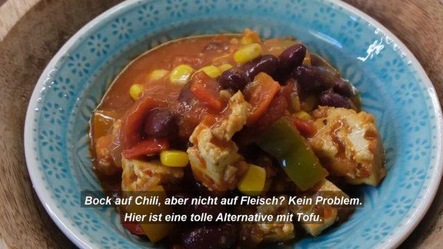 Chili con Carne mit Tofu: So lecker schmeckt vegan