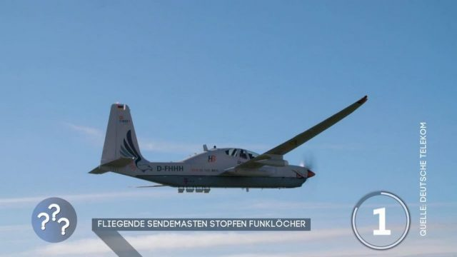 Fliegende Sendemasten stopfen Funklöcher